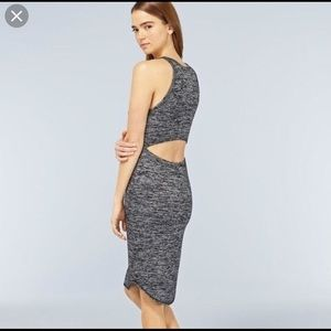 Aritzia Wilfred size medium gray/ black dress.